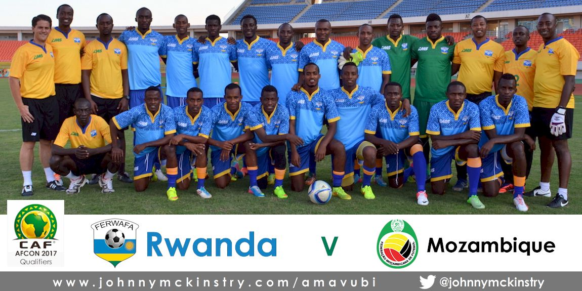 Avavubi Squad in training before Mozambique AFCON 2017 qualifier (13  June 2015)