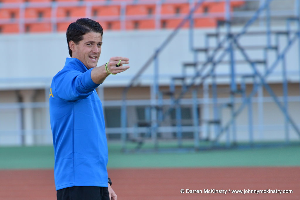 Coach McKinstry holds final training session before Mozambique AFCON 2017 qualifier (13  June 2015)