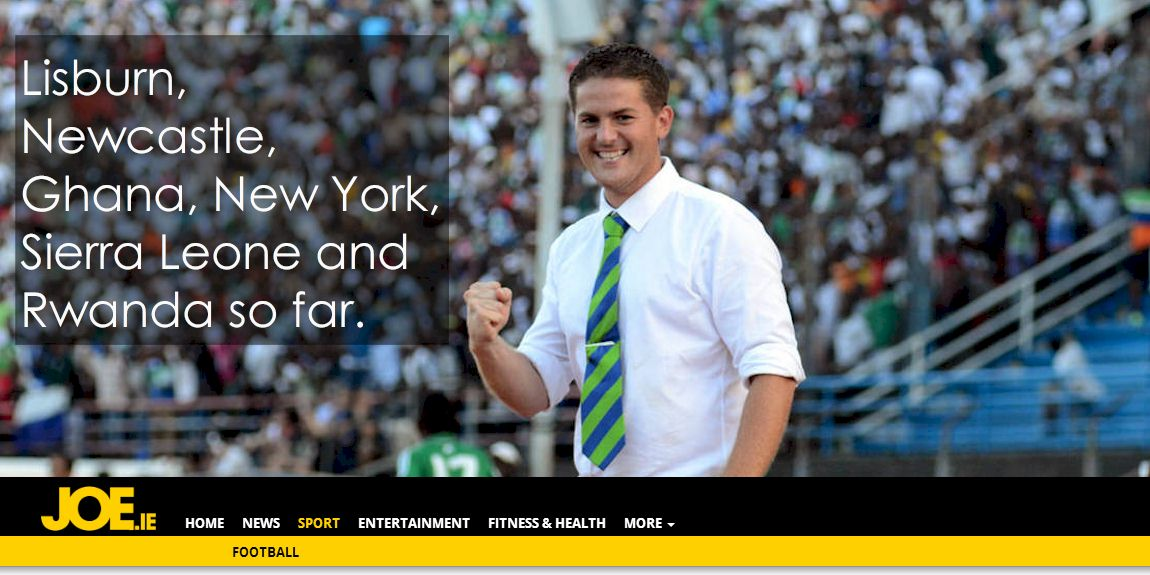 Meet Johnny Mckinstry, the antrim guy who's managing rwanda's international football team
