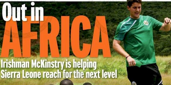 McKinstry is helping Sierra Leone Reach for the next level