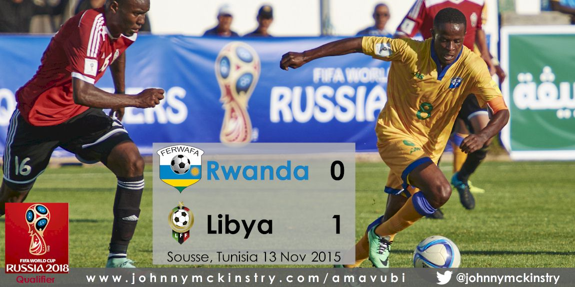 World Cup 2018: Rwanda 1-0 down against Libya in first Leg