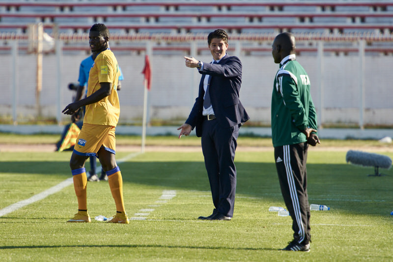 [Rwanda Vs Libya World Cup 2018 Qualifier, 13 Nov 2015 in Sousse, Tunisia.  Photo © Darren McKinstry 2015]