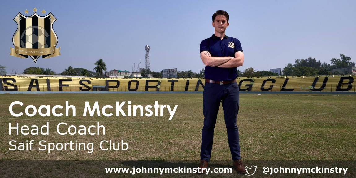 Coach McKinstry appointed Head Coach of Saif Sporting Club (Bangladesh Premier League)