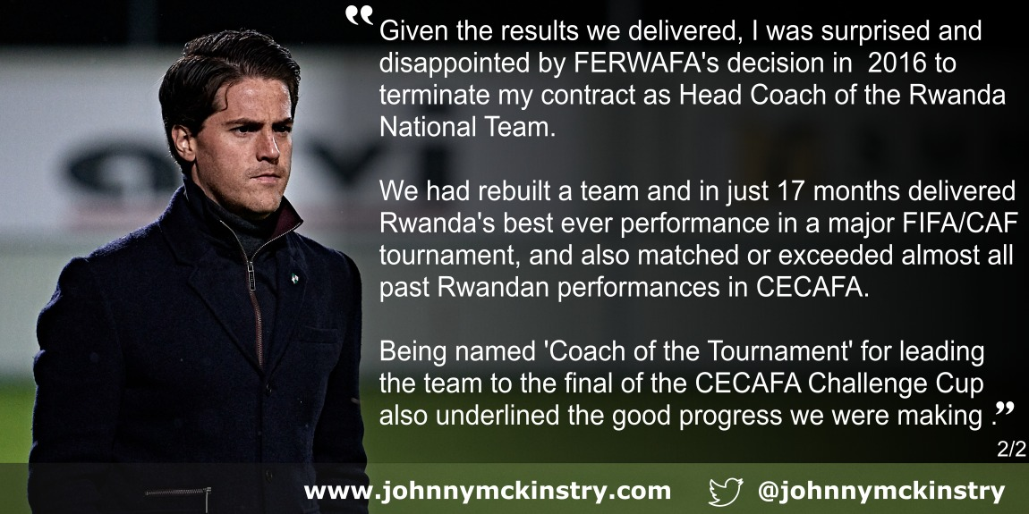 Coach McKinstry quote