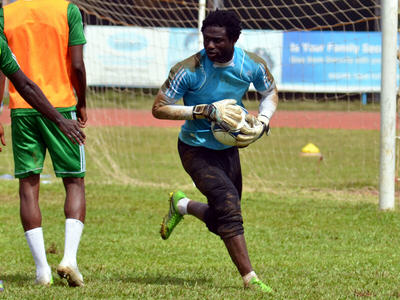 Solomon Zombo Morris  [Leone Stars Training Camp, in advance of Equatorial Guinea game, Sept 2013 (Pic: Darren McKinstry)]